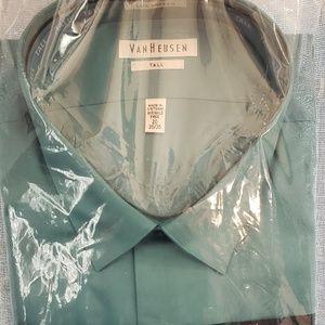 Teal Van Heusen Dress shirt